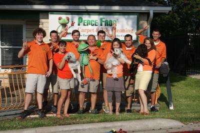 Peace Frog Staff members group photo