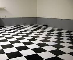 Black and white checkered tile cleaned by Peace Frog Specialty Cleaning in Austin