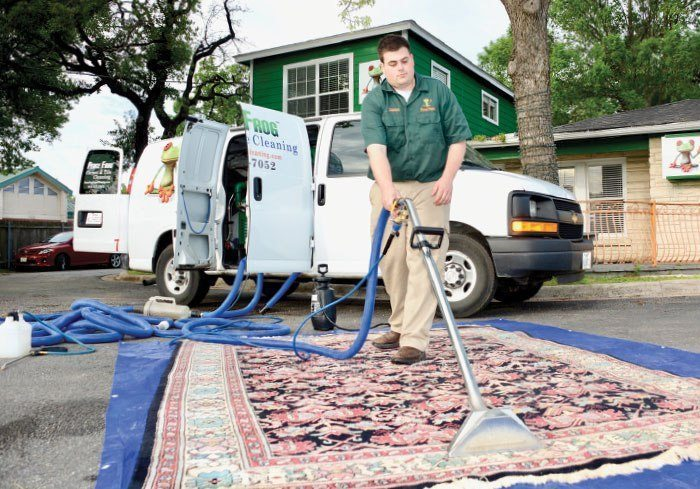 Manager Jason Schmidt said environmentally conscious services are important to people in the Austin area.