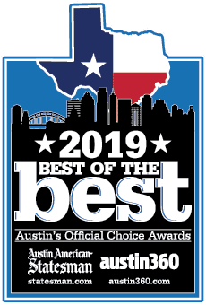 2019 Austin Best of the Best award badge
