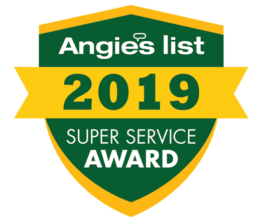Angie's List 2019 Super Service Award logo